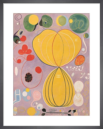 The Ten Largest, No. 7, Adulthood, Group IV, 1907. by Hilma af Klint