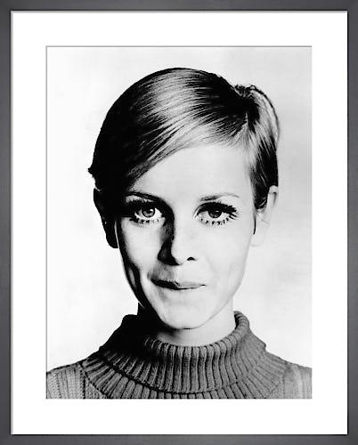 Twiggy, 1966 by Barry Lategan