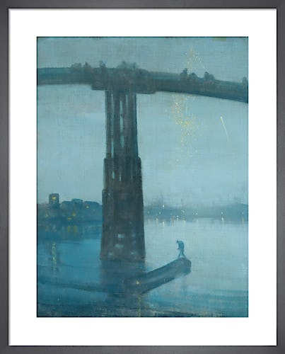 Nocturne: Blue and Gold - Old Battersea Bridge, 1872-5 by James Abbot McNeill Whistler