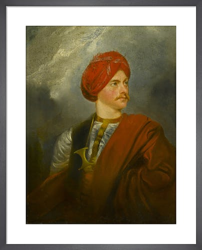 Portrait of a Man in Oriental Costume (presented as a self portrait by Giovanni Belzoni) from Sir John Soane's Museum