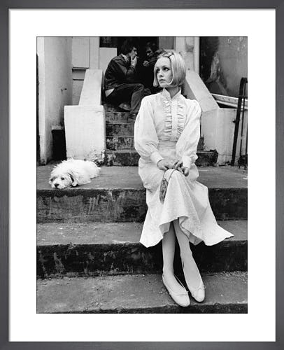 Twiggy, 1968 by Anonymous