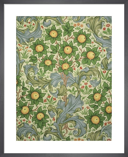 Orchard wallpaper, England, 1899 by J H Dearle
