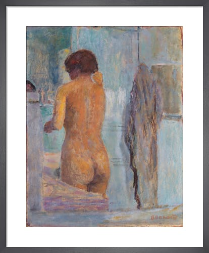 Bathing Woman, Seen from the Back, c.1919 by Pierre Bonnard