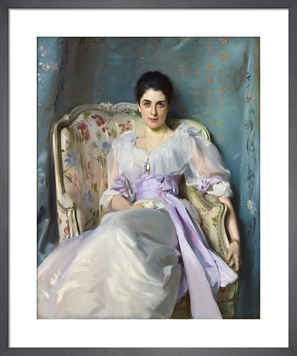 Lady Agnew of Lochnaw (1864 - 1932) by John Singer Sargent