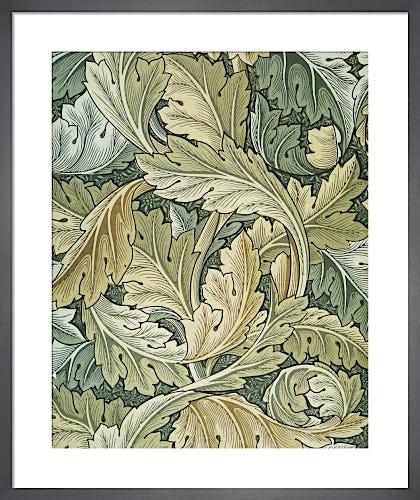 Acanthus wallpaper, 1875 by William Morris