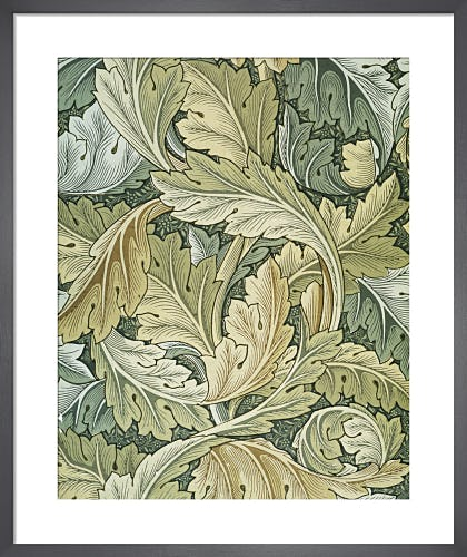 Acanthus wallpaper, 1875 by William Morris