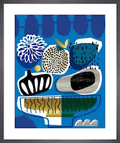 Blue Bowl by Gillian Martin
