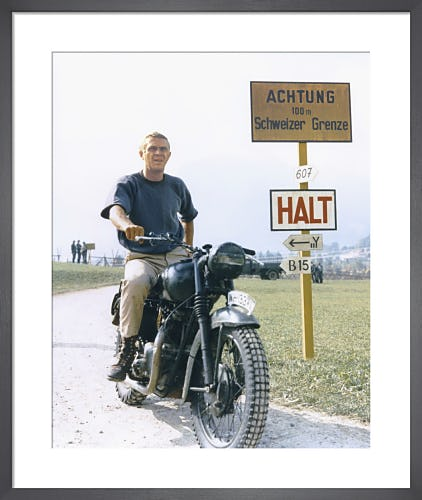 Steve McQueen, The Great Escape (1962) by Anonymous
