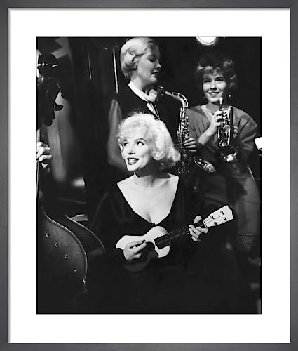 Marilyn Monroe, Some Like It Hot (1959) by Anonymous