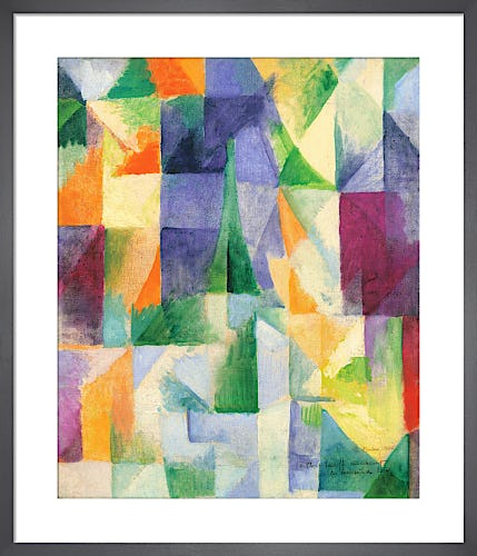 Windows Open Simultaneously (First Part, Third Motif), 1912 by Robert Delaunay