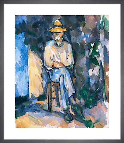 The Gardener Vallier, c.1906 by Paul Cézanne