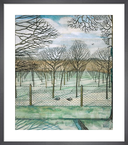 The Cherry Orchard, 1914 by Paul Nash
