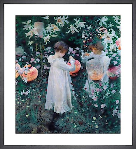 Carnation, Lily, Lily, Rose, 1885-86 by John Singer Sargent
