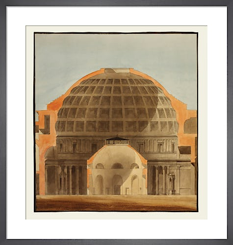 The Pantheon Rome and the Rotunda Bank of England by The Soane Office