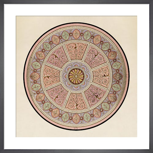 Finished drawing for a ceiling or a carpet II c1765-66 unexecuted by Giuseppe Manocchi