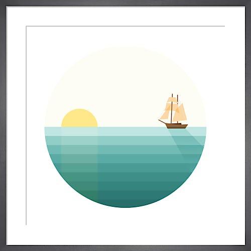 Sailing the Seas by Simon C Page