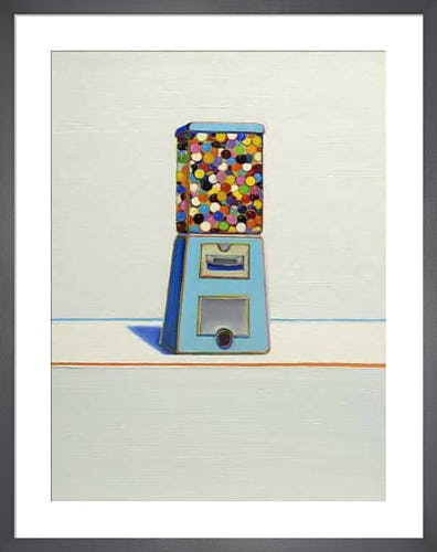 Blue Vendor, 1963 by Wayne Thiebaud