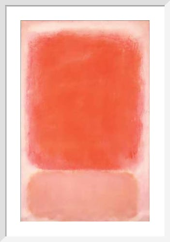 Red and Pink on Pink, c.1953 by Mark Rothko
