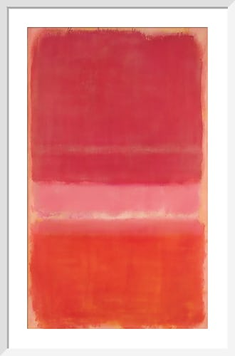 Untitled (Red), c.1956 by Mark Rothko