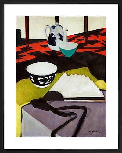 Still Life (The Grey Fan) by F.C.B. Cadell