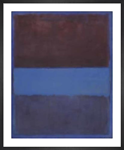 No 61. (Rust and Blue) by Mark Rothko