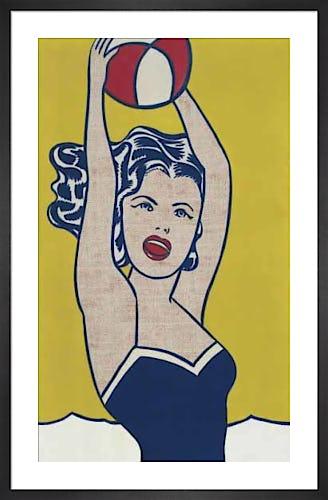 Girl with Ball by Roy Lichtenstein