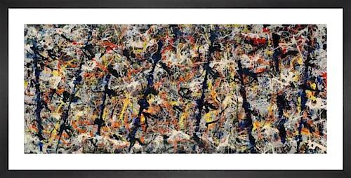 Blue Poles, 1952 by Jackson Pollock