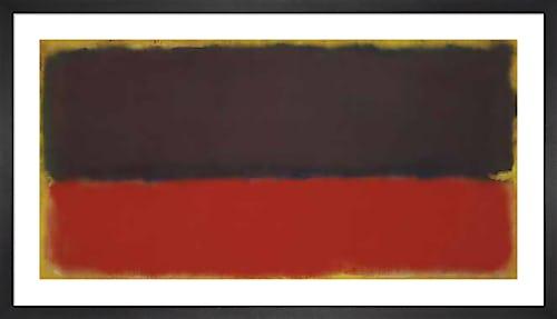 No.13, 1951 by Mark Rothko