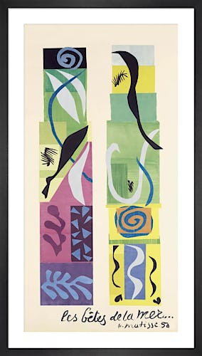 Beast of the Sea by Henri Matisse