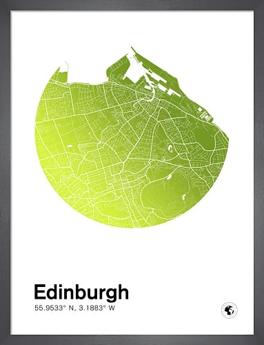Edinburgh by MMC Maps