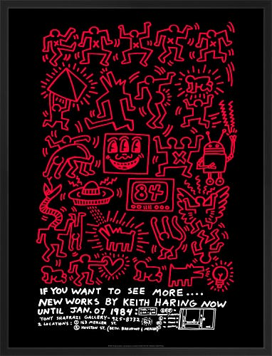 If You Want to See More.... 1984 by Keith Haring