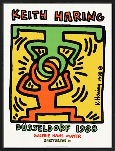 Keith Haring Düsseldorf 1988 by Keith Haring
