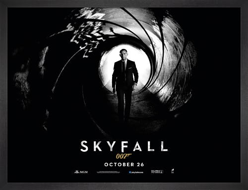 Skyfall by James Bond Archive