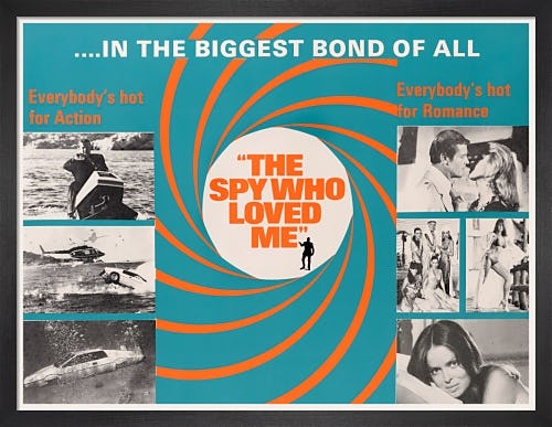 The Spy Who Loved Me by James Bond Archive