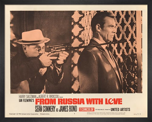 From Russia With Love by James Bond Archive