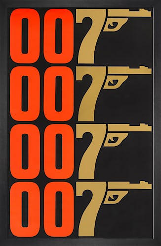 The Man With The Golden Gun by James Bond Archive