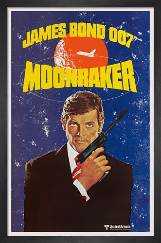 Moonraker by James Bond Archive