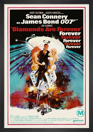 Diamonds Are Forever by James Bond Archive