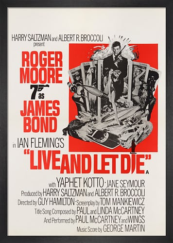 Live And Let Die by James Bond Archive