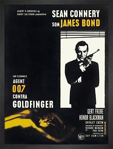 Goldfinger by James Bond Archive