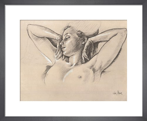 Study for Wing-like Arms by Francine Van Hove