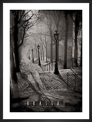 Les Escaliers de Montmartre, Paris by Brassai