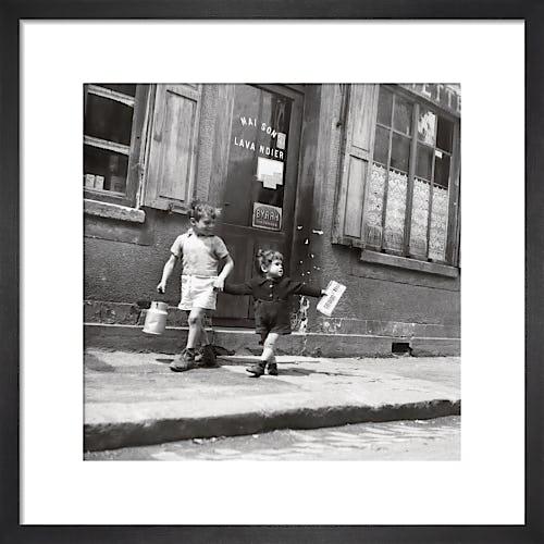 Rue Marcellin Berthelot, Choisy-le-Roi, 1945 by Robert Doisneau
