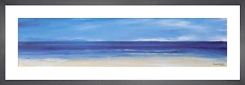 Aqua Blues I by Ronnie Leckie