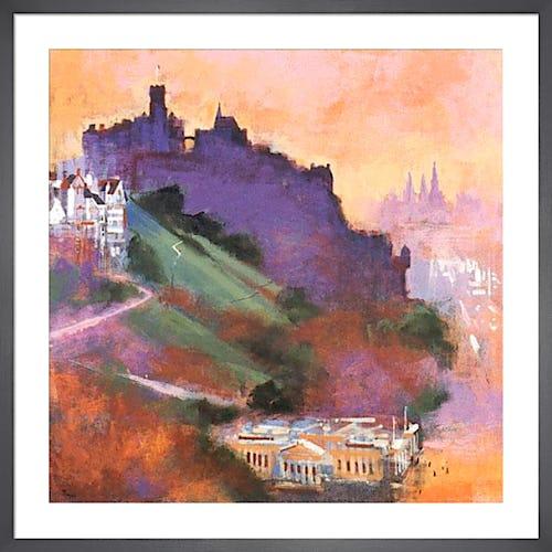 Edinburgh Castle by Colin Ruffell