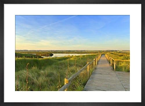 Titchwell Marshes - Norfolk by Richard Osbourne
