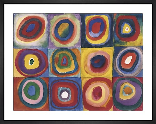 Colour Study. Squares And Concentric Circles by Wassily Kandinsky