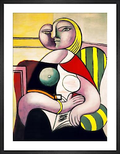 La lecture (Woman Reading) by Pablo Picasso