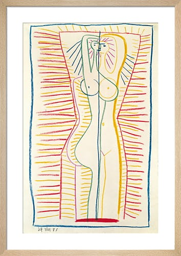 Standing Female Nude II 1946 by Pablo Picasso