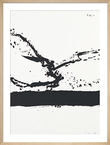 Beside the sea No.24 1962 by Robert Motherwell